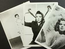 LOT: THREE 1950s ORIGINAL MOVIE PROMO STILL PHOTOGRAPHS of JUDY GARLAND~