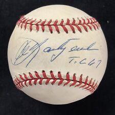 Carl Yastrzemski Signed Baseball Rawlings Red Sox Autograph T.C 67 Inscr HOF JSA