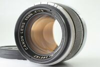 【EXCELLENT+++++】 Canon Rangefinder RF 50/1.8 Lens for Leica LTM L39 From Japan