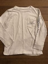Vineyard Vines Whale Long Sleeve Shirt Boy 4T