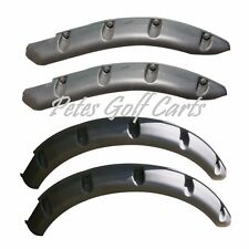 Ezgo TxT Golf Cart Fender Flares Front and Rear 2014 and Up Free Shipping
