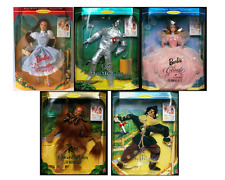 Wizard of Oz Hollywood Legends Collection Barbie Dolls Set of 5 Mint New Rare