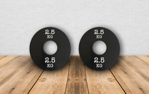 2.5KG weight plates for 2 inch bar PAIRS