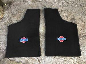 Fit For Datsun 620 Pickup Truck Floor Mats Carpet Black 1973-79 Set of2