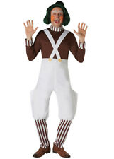 Adult Size Traditional Oompa Loompa Costume DOES NOT INCLUDE WIG