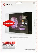 GRIFFIN* 1pc TOTALGUARD Screen Protector ANTI-GLARE Samsung GALAXY TAB 10.1 New!