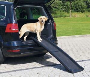 Trixie Pet Ramp. Black. 40 X 156 cm . Klapp-Rampe Petwalk .