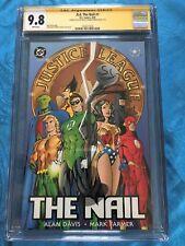 JLA: The Nail #1 - DC - CGC SS 9.8 - Signed by Alan Davis, Mark Farmer