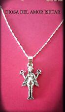 Colgante Diosa Sumeria Innana , ishtar ,lilith , Anunnaki  silver plata 925ml