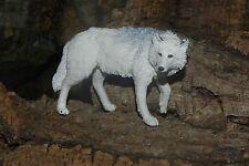 White Wolf Figurine Nativity Scene Presepio Pesebre Wild Life Western Diorama