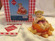 """My Little Kitchen Fairies """"TANGERINE FAIRIE"""" 2011 NIB"""
