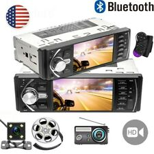 """New listing 4"""" Single 1 Din Car Mp5 Player Bluetooth Touch Screen Stereo Radio Usb +Camera"""