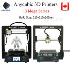 CA Anycubic Upgrade i3 Mega S 3D Printer 3.5inch TFT Full Metal Frame 1.75mm PLA