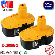 2x For Dewalt 18V XRP Battery DC9096-2 DC9098 DC9099 DW9096 DE9095 Power Tools A
