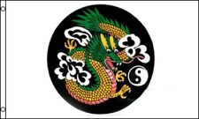 3x5 Chinese China Dragon Circle Yin Yang Flag 3'x5' Banner Grommets