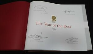 The Year Of The Rose Limited Edition Signed Book