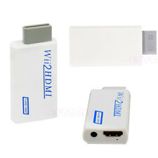 Wii To HDMI 1080P HD Full Upscaling Converter Adapter With 3.5 mm Audio Output