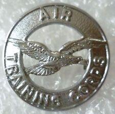 Badge-Air Training Corps Cap Badge / ATC Badge (Chrome)