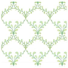 Charleston Trellis White Fabric By Quilting Treasures By The Yard