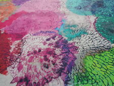 Italian Cotton Voile 100%, 'Autumn Fairy Dust', (per metre) dress fabric
