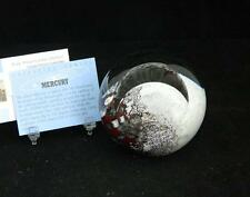 Mercury Paperweight Glass Eye Studio Celestial Series 486F New USA Made