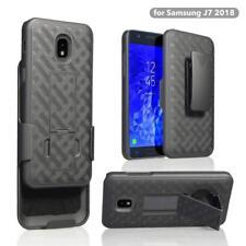 For Samsung Galaxy J7V 2nd Gen | J7 STAR | J7 Refine 2018 Belt Clip Holster Case