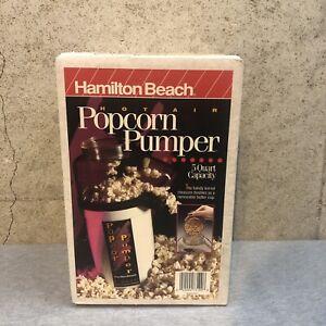 NEW Hamilton Beach Popcorn Popper 5 Quart Hot Air SEALED 73199