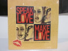 Speak Love Make Love Board Game - Romantic Game of Giving and Receiving SEALED