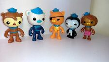 Octonauts Barnacles Kwazii Peso Shellington Dashi Figurine Set Cake Topper x5pcs
