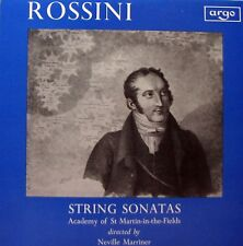 ROSSINI String Sonatas LP