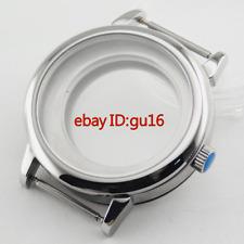 40mm watch Case Sapphire Glass Fit ETA 2836,DG2813/3804,Miyota 82 Series,P489