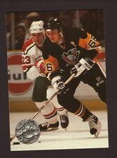 Mario Lemieux--1991-92 Pro Set Platinum Hockey Card--Pittsburgh Penguins