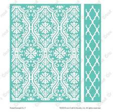Cuttlebug 5x7 Embossing folder & Border - Fluted Damask - 2002351