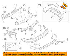 AUDI OEM 10-15 Q7 REAR BUMPER-Tailpipe Extension Right 4L0071772B