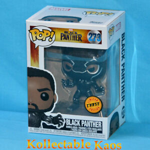 Black Panther - Black Panther Masked Pop! Vinyl Figure #273 - Chase + Protector