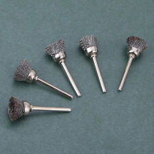 5Pcs Bowl Shape Stainless Steel Wire Cup Brushes Wheel Rotary Rotary Gift