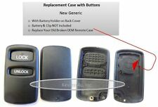 New replacement case shell only keyless remote E4EG8D-522M-A Mitsubishi Montero