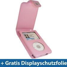 Pink PU Leder Tasche für Apple iPod Classic 80/120/160gb Schutz Hülle Case Etui