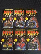 KISS Phone Cards- 1996 limited edition Paul Stanley Gene Simmons Ace set of 6