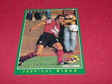 JEAN LUC RIBAR STADE RENNES ROAZHON  ROOKIE  PANINI FOOTBALL CARD 1994-1995