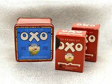 More details for oxo tin and original contents- 75 years of oxo diamond jubilee-vintage-1985