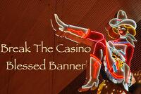 Break The Casino Voodoo Banner Altar Cloth Ritual Spell Kit Success Cash