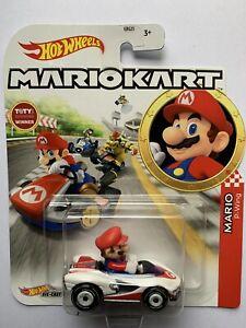 Hot Wheels Mario Kart Mario P-Wing. New