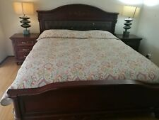 King-size bed base and draws