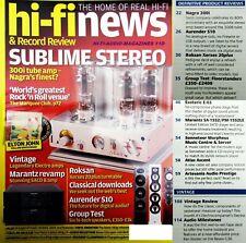 "HI-FI NEWS ELECTROCOMPANIET "" ELECTRO*"" THE STORY  - REVOX G36 OPEN REEL DECK"