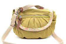 FOSSIL Damentasche Schultertasche Handtasche Textil Grün Sommer Bag