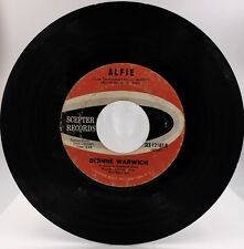 "DIONNE WARWICK ""Alfie/The Beginning Of Loneliness"" Scepter Label"