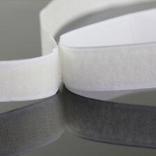 24m x 20mm Self Adhesive Nylon Hook & Loop Tape Fastener Extra Sticky US STOCK