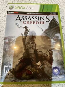 Assassin's Creed III (Microsoft Xbox 360, 2012) Game Stop Edition Complete