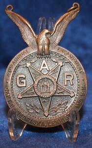 DATE 1916 40th ANNUAL GAR NEBRASKA ENCAMPMENT MEDAL  HALLMARK EXCELLENT